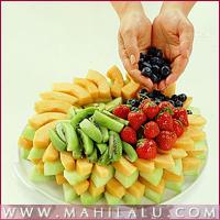 fresh fruit gateau