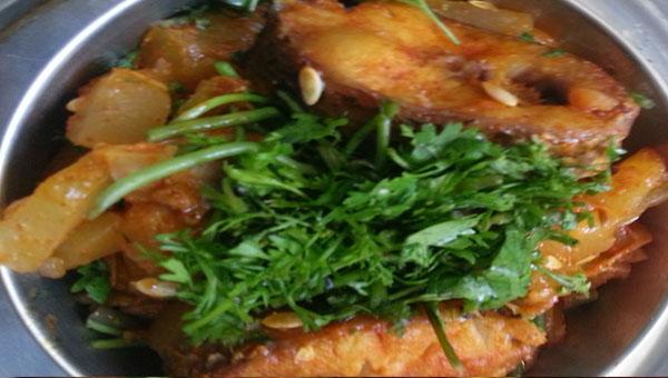 Cucumber Fish curry Recipe
