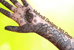 Mehndi Designs For Traditional Functions