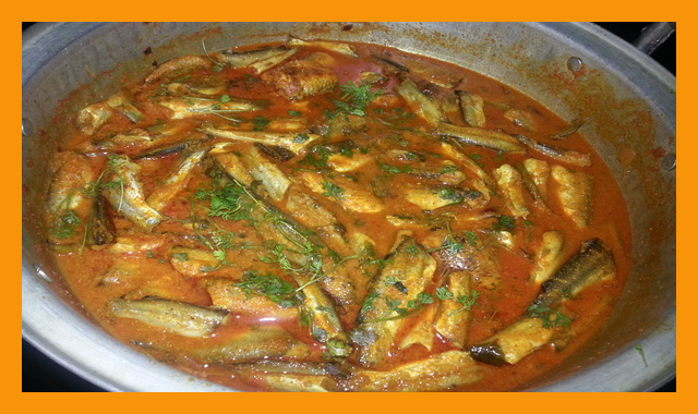 How To Make Small Fish(Jalalu) Curry