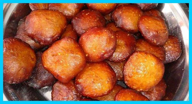 Sweet Coconut Vada