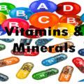 Vitamin & Minerals