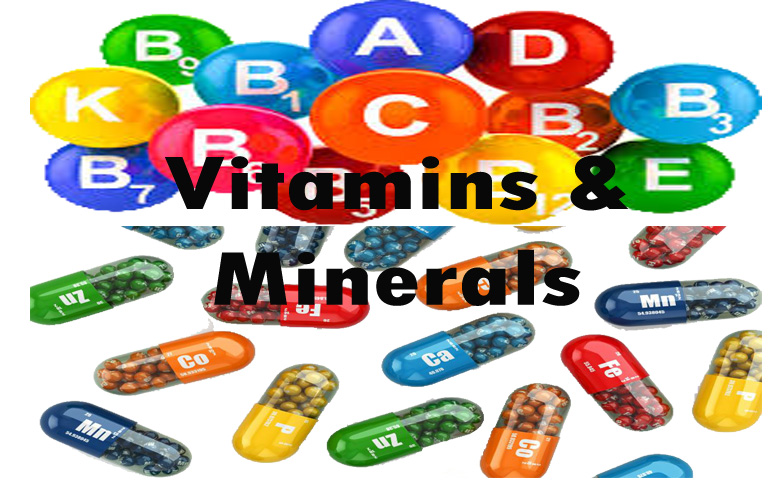 Vitamins And Minerals For Health